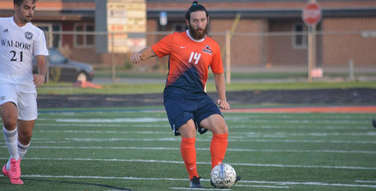 Photo for First-half goals carry No. 23 Midland soccer over Concordia University