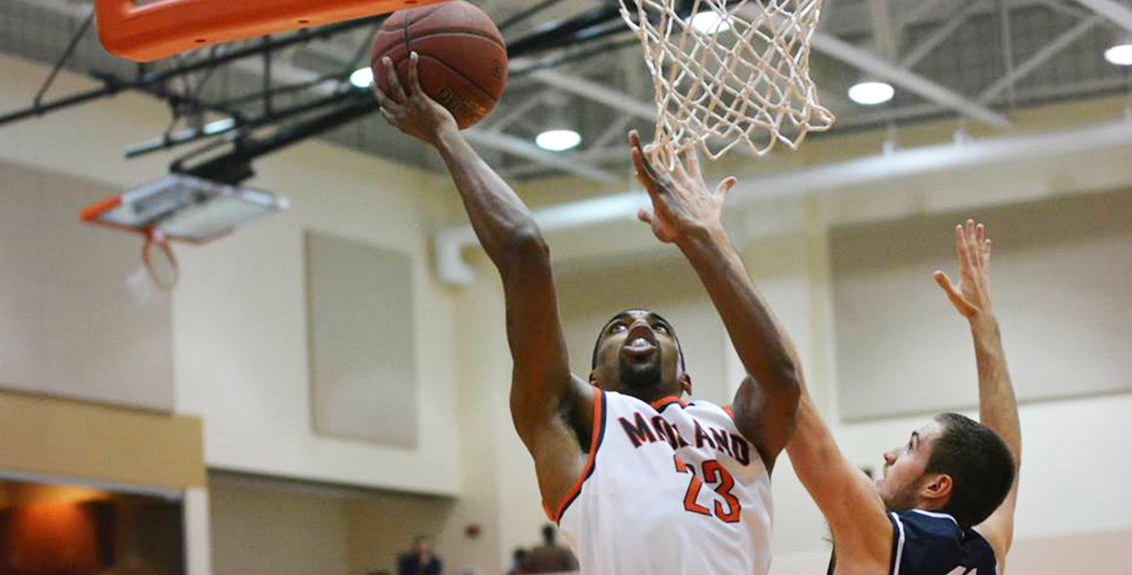 Photo for No. 16 Midland University basketball blows out Mount Marty