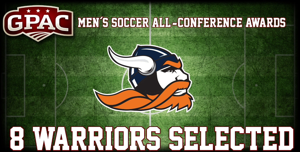 Photo for Midland men's soccer lands eight on 2016 All-GPAC Team