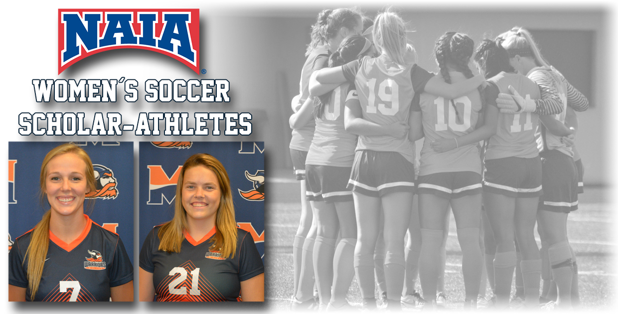 Photo for Tjards and Wagner named 2016 Women's Soccer Scholar-Athletes