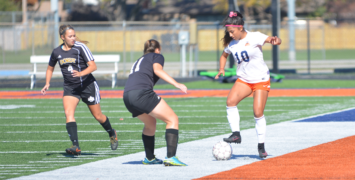 Photo for Lady Warriors blank CSM in GPAC soccer quarterfinals