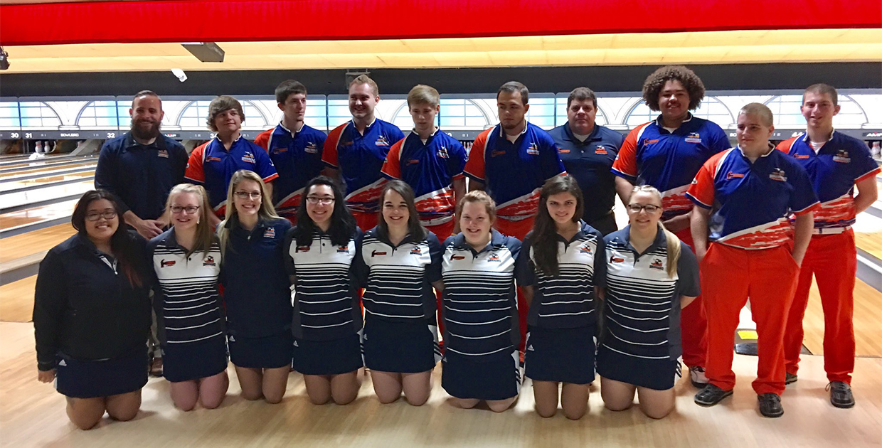 Photo for Warrior Bowling Teams Compete at Mid-States Bowling Tournament