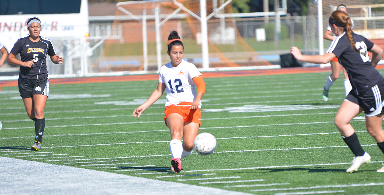 Photo for Lady Warrior soccer cruises to fifth consecutive victory