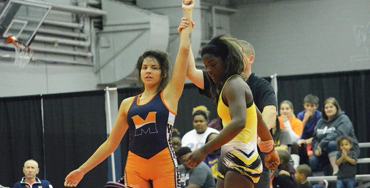 Photo for Lady Warriors win wrestling dual over Ottawa