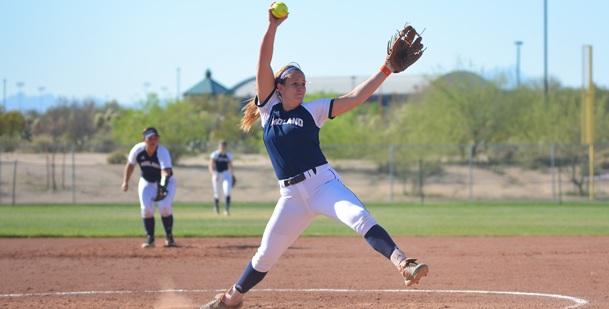 Photo for Lady Warrior bats salvage finale at Tucson Invitational