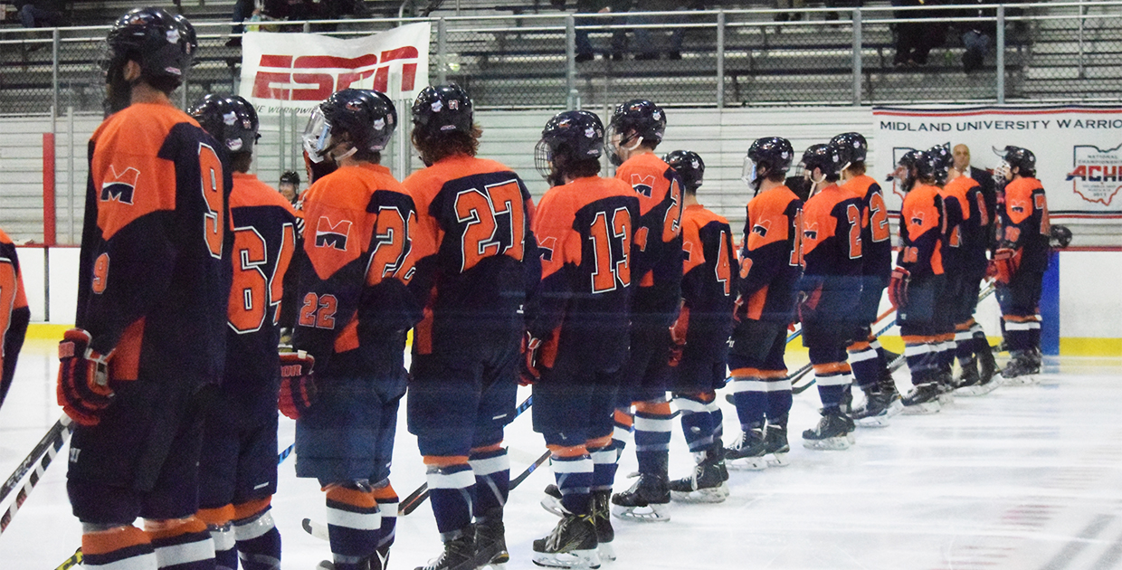 Photo for Midland's historic hockey season ends at ACHA National Championship