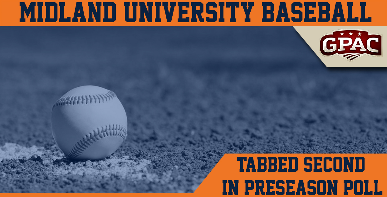 Photo for Midland tabbed second in 2017 GPAC baseball preseason coaches' poll