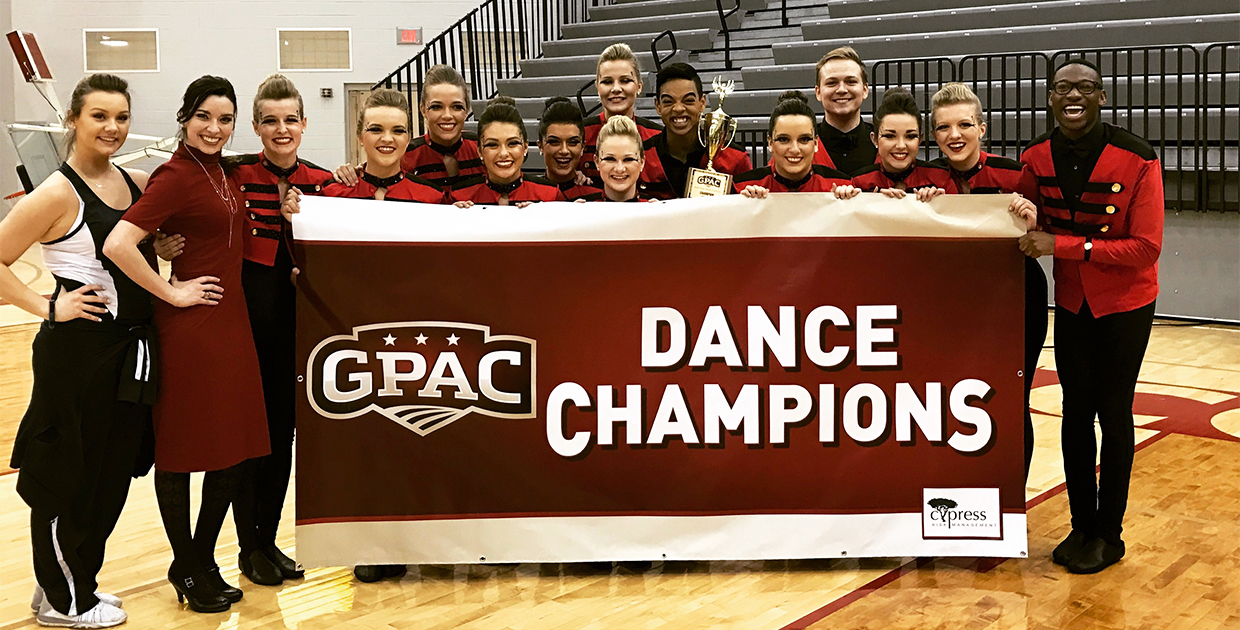Photo for Warrior Wildfire win 2017 GPAC Dance Championship