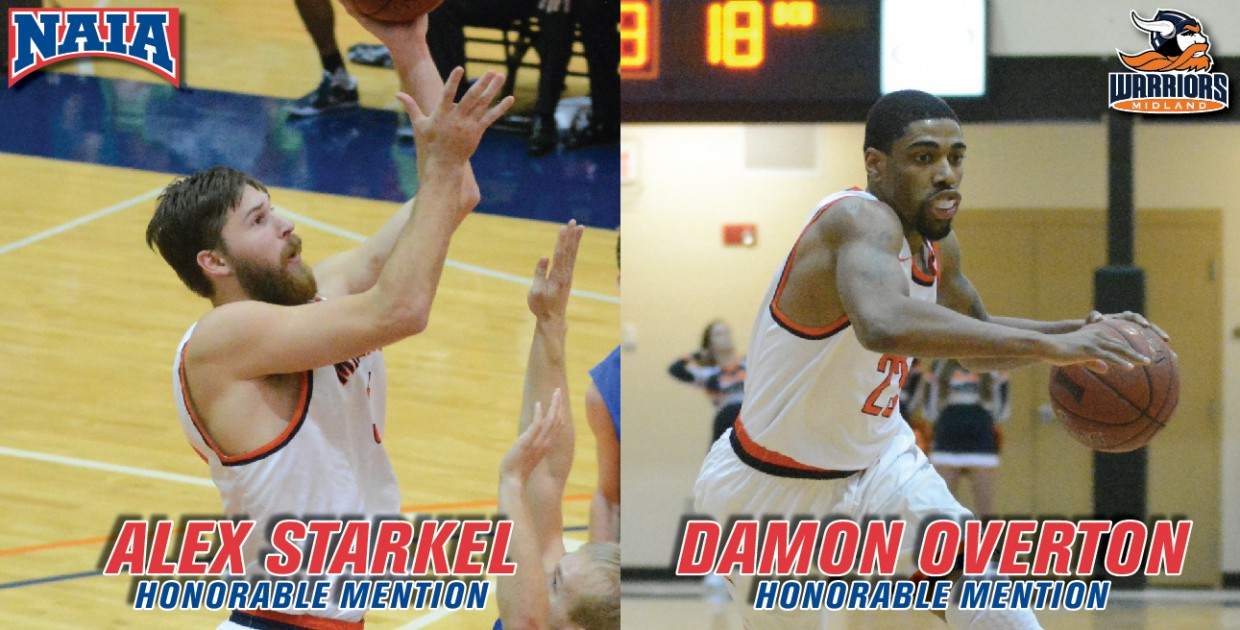 Photo for Overton and Starkel garner NAIA All-American Honorable Mention recognition