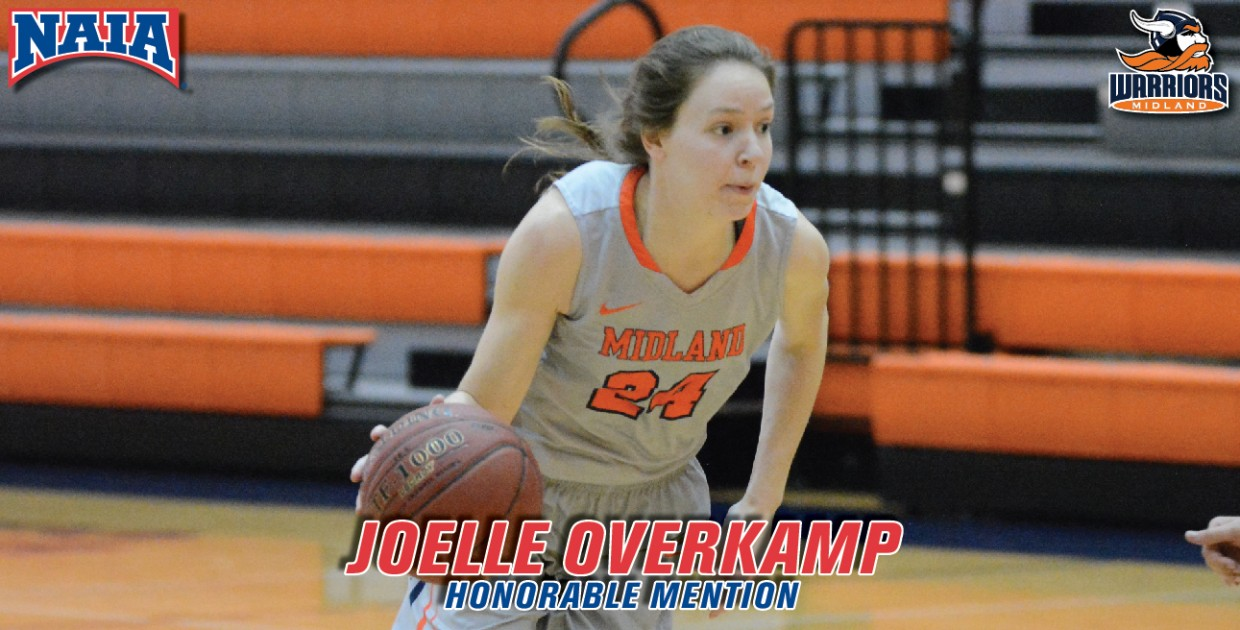 Photo for Overkamp named NAIA All-American Honorable Mention