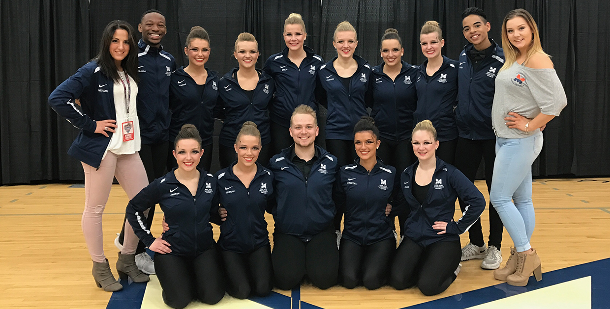 Photo for Warrior Wildfire in first after prelims of NAIA Dance National Championship