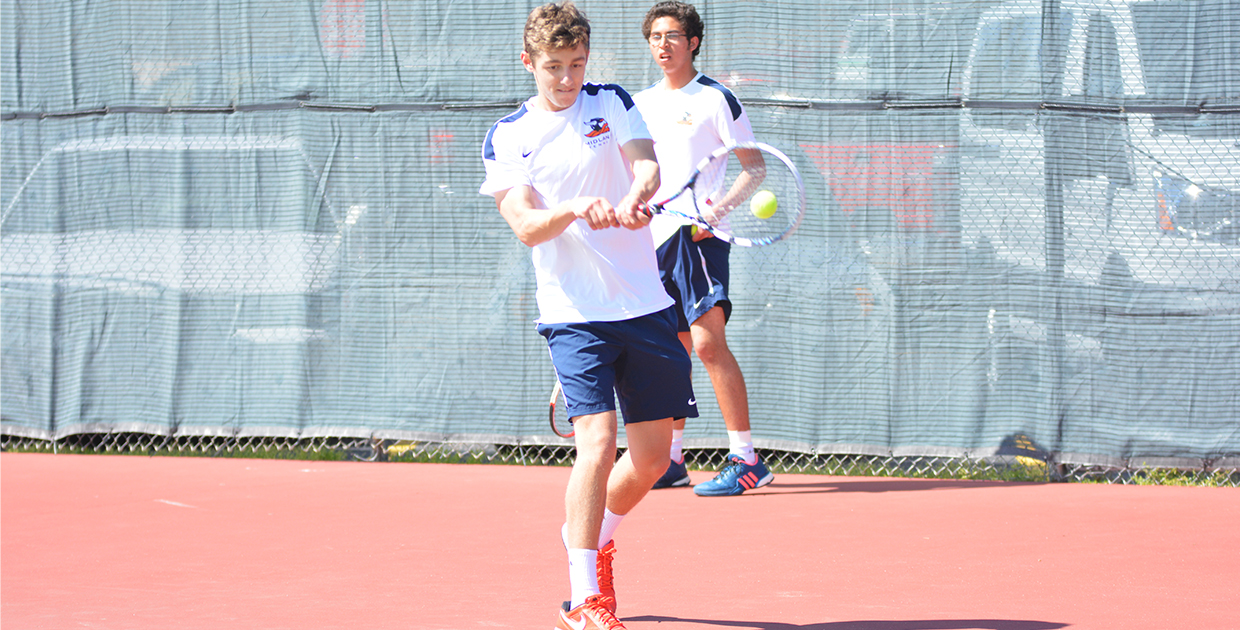 Photo for Men's tennis falls to Morningside, preps for regular season finale