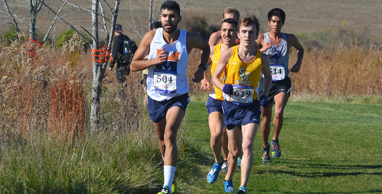 Photo for Aldaba caps cross country career with All-American finish at Nationals