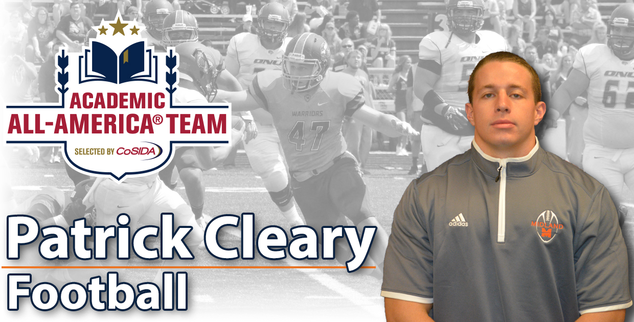 Photo for Patrick Cleary named 2016 CoSIDA Academic All-American