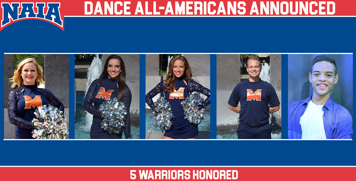 Photo for Warrior Wildfire land five dancers on All-America Team