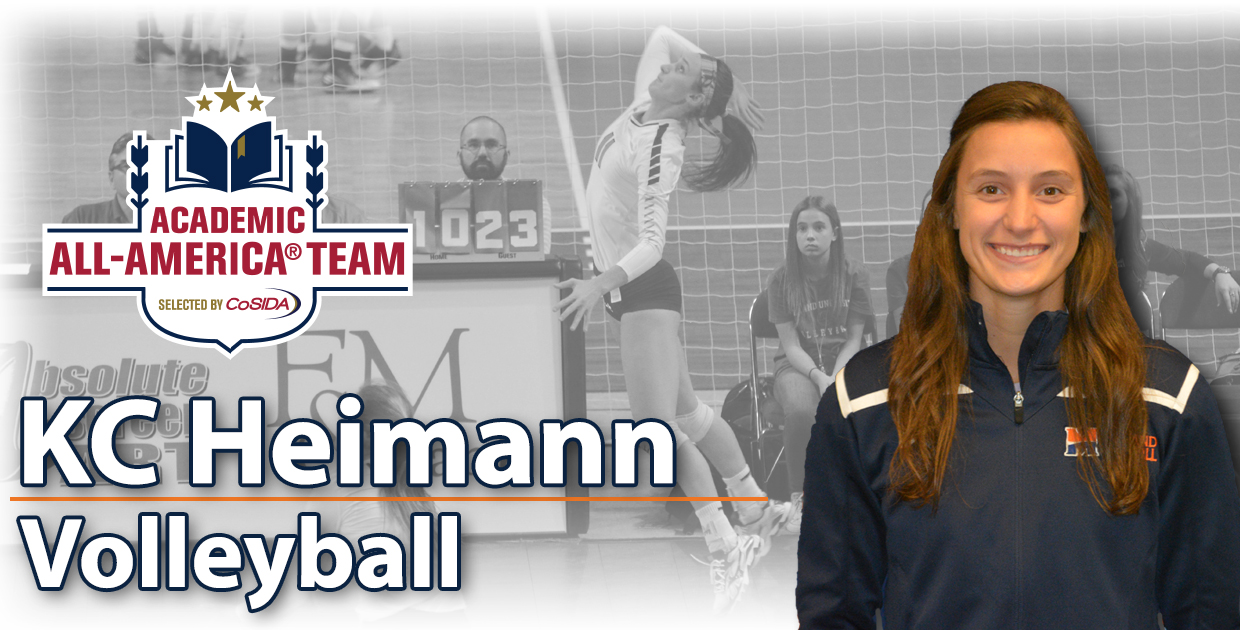 Photo for Heimann named 2016 CoSIDA Volleyball Academic All-American