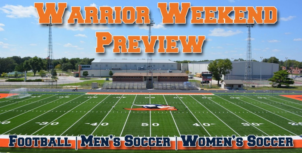 Photo for Warrior Weekend Preview: Football and Soccer open at home on Saturday
