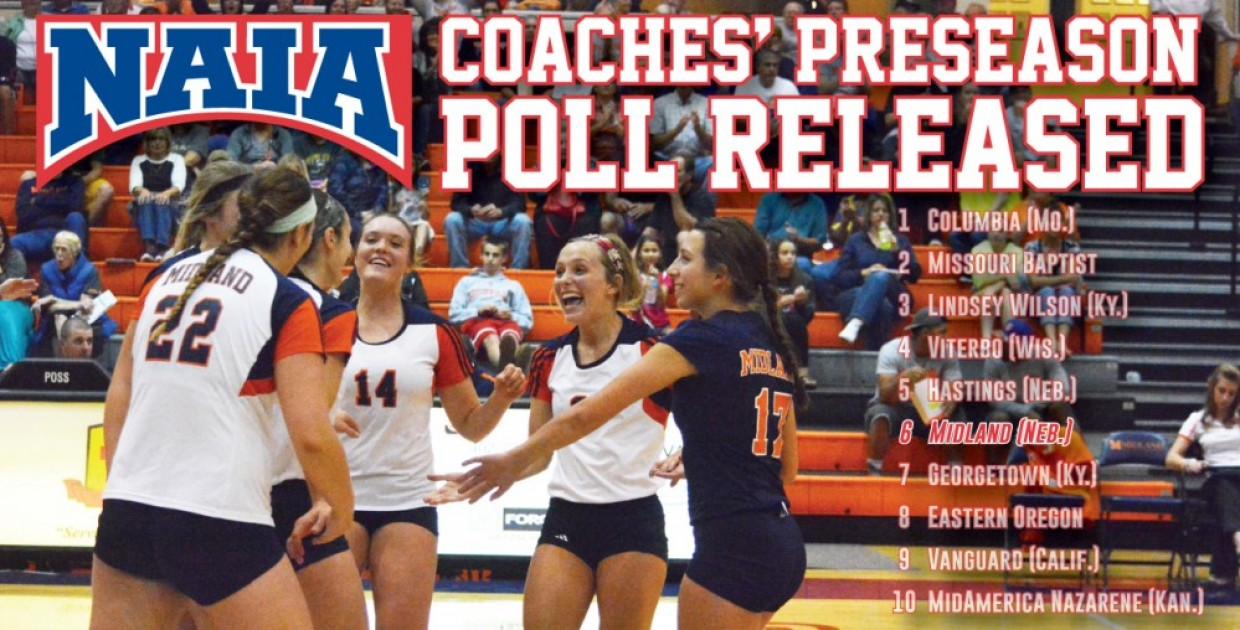Photo for Lady Warriors ranked No. 6 in NAIA volleyball preseason poll, open play Thursday