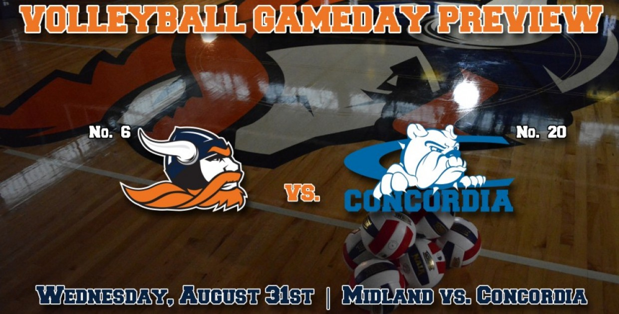 Photo for Volleyball Match Notes: No. 6 Midland University opens GPAC slate vs. No. 20 Concordia