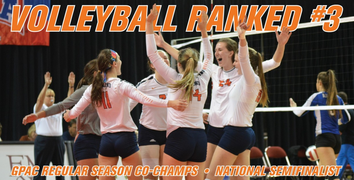 Photo for Midland volleyball earns highest postseason ranking in program history