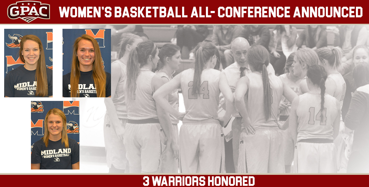 Photo for 2016-17 All-GPAC Women's Basketball Team announced, Overkamp named to First Team