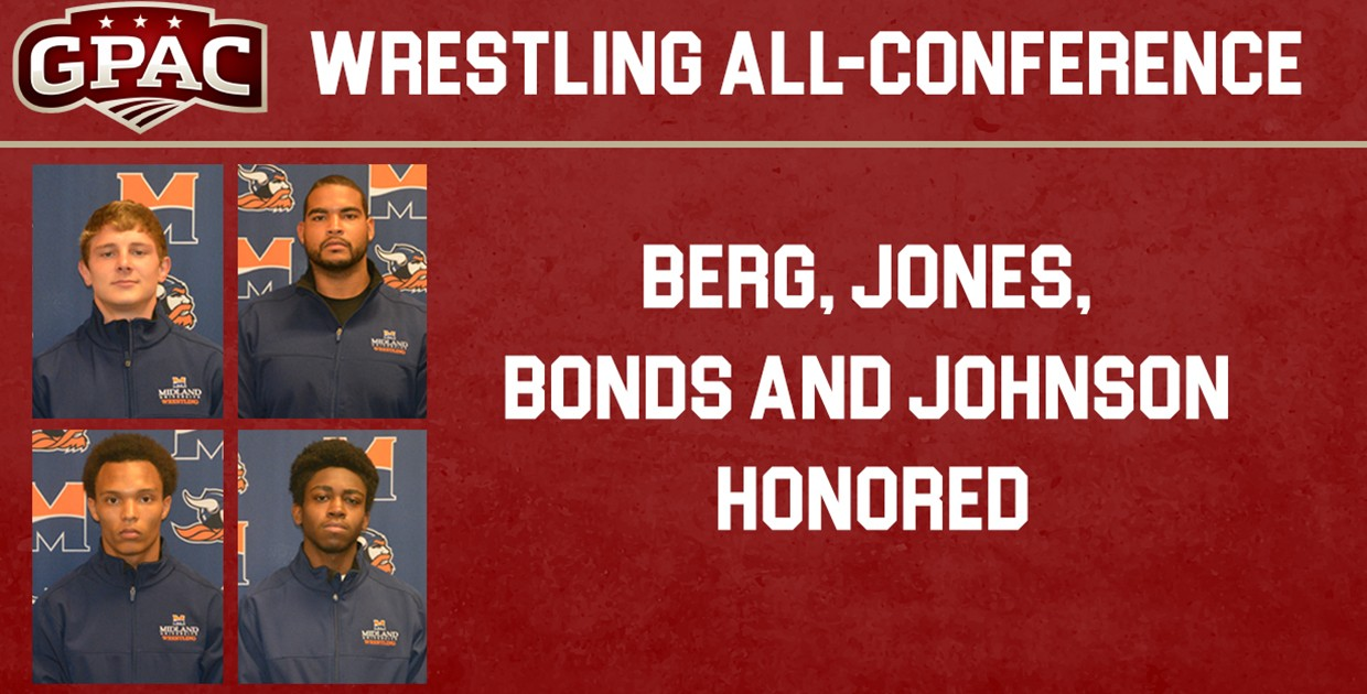 Photo for Four Warriors named to All-GPAC Wrestling Team