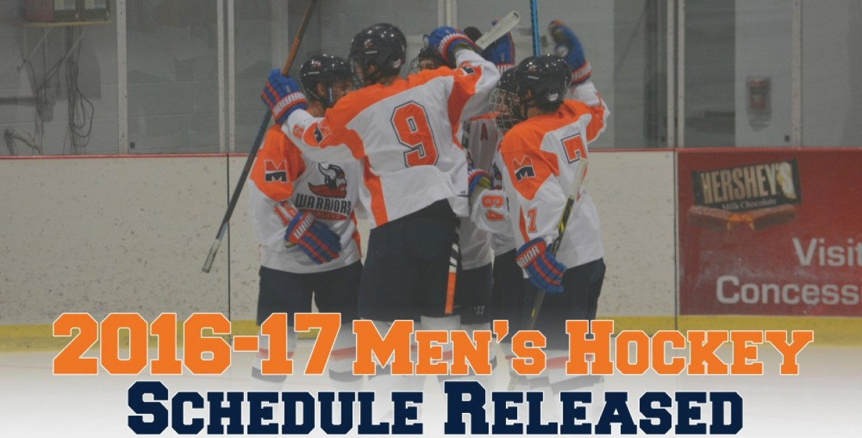 Photo for Warriors announce 2016-17 men's hockey schedule