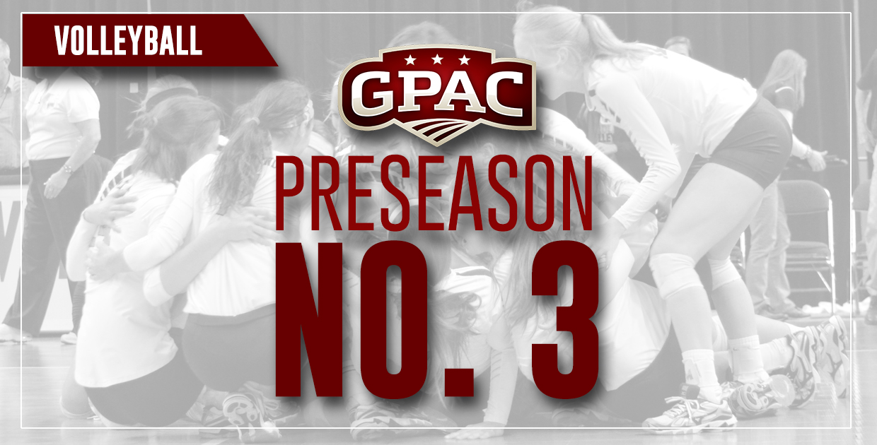Photo for Lady Warriors selected third in GPAC volleyball preseason poll