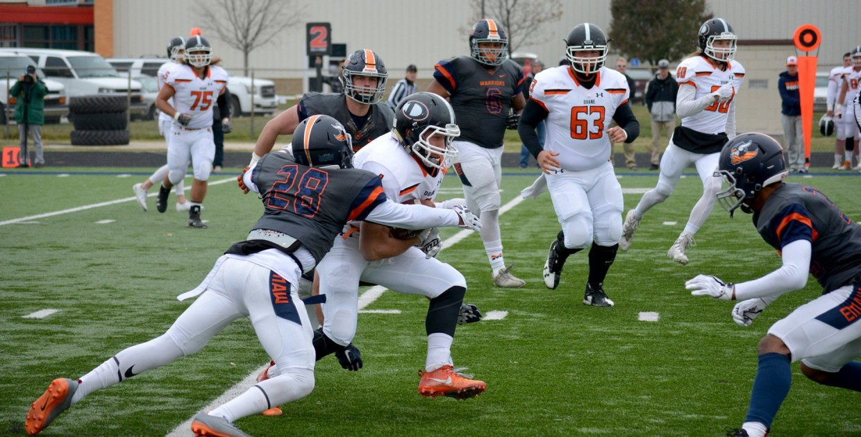 6263c63955a Midland University - Warriors End Season with 31-20 Victory over Doane