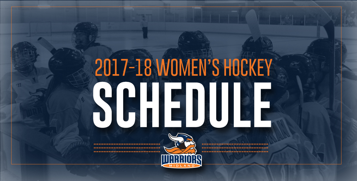 Photo for Lady Warriors release 2017-18 hockey schedule